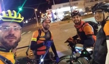 Ciclistas de Americana e S. Bárbara irão percorrer 282 km em 20 horas