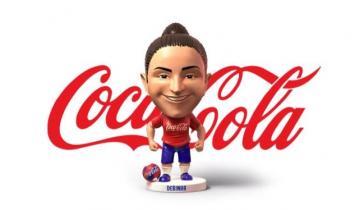 Coca-Cola lança mini craque para a Copa do Mundo de Futebol Feminino