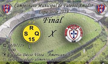 São Roque e Unidos da Mathiensen disputam a final do campeonato neste domingo.