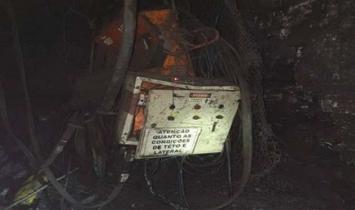 Mina de carvão é interditada por risco de desabamento em Santa Catarina