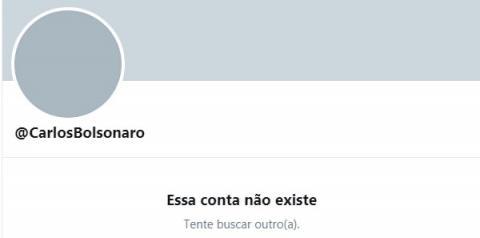Carlos Bolsonaro amanhece sem contas nas redes sociais