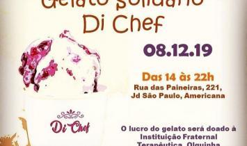 Di Chef realiza primeiro Gelato Solidário