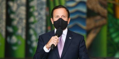 Doria anuncia multa para pessoas e estabelecimentos que descumprirem uso obrigatório de máscara