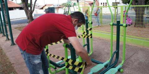 Nova Odessa lacra playgrounds e academias em praças