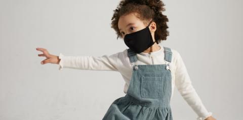 Empresa lança linha infantil de máscaras com tecido antiviral