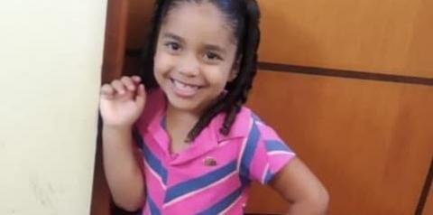 Menina de 4 anos está desaparecida