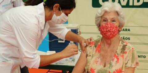 Vacinação em Nova Odessa é 5 vezes mais rápida que registro de novos casos de Covid