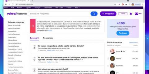 Após 16 anos, Yahoo Respostas será desativado