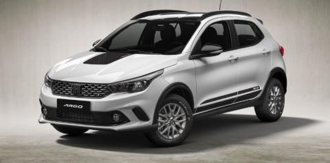 Fiat Argo oferece mais potência para a versão Trekking