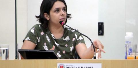 Professora Juliana pede aumento do número de ônibus em circulação em Americana