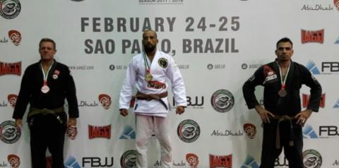 Lutador de Americana é Campeão Continental de Jiu-Jitsu