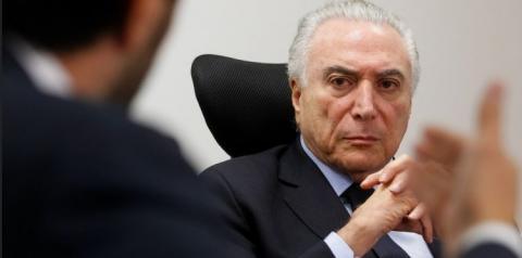 Temer recebeu R$ 1 milhão em propina, afirma MPF