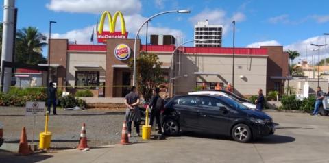 Explosão atinge Burger King em Sumaré