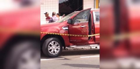 Homem é baleado dentro de carro, no Centro de Nova Odessa