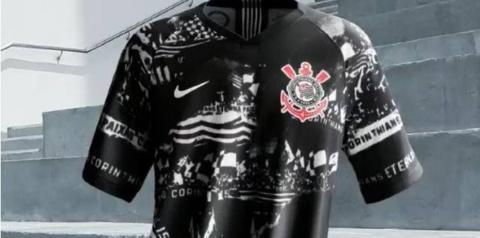 Corinthians lança oficialmente nova camisa