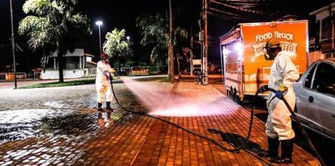 Americana terá desinfecção em ruas e postos de saúde