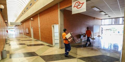S. Bárbara inicia implantação de Hospital de Campanha