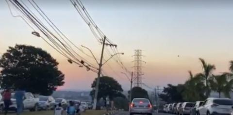Unicamp interdita vias após aglomeração de jovens para ver pôr do sol