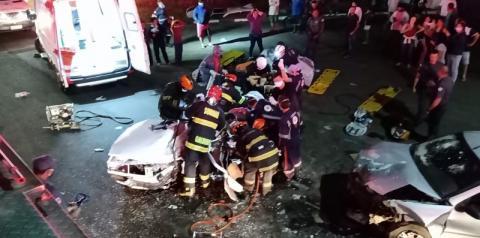 Acidente deixa oito feridos em Sumaré