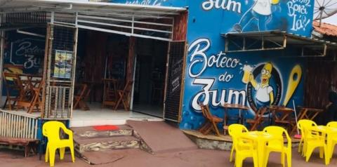 Comerciante é morto baleado dentro da própria lanchonete