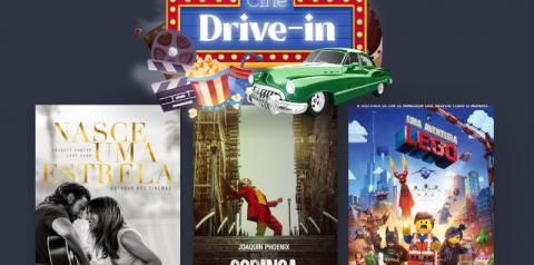 Tivoli Shopping divulga novos filmes no Cine Drive-in