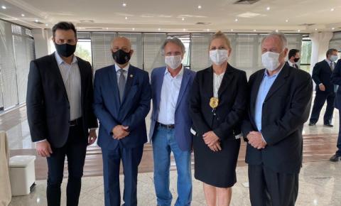 Delegado Geral da Polícia e Macris vistoriam superdelegacia de Americana