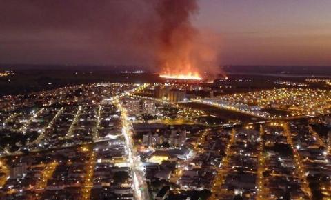 Prefeitura pede providências de órgãos ambientais sobre incêndios em áreas de plantio de cana