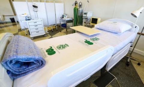 Hospital de Campanha de S.Bárbara recebe primeiros paciente