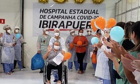 Barbarense é a paciente 1.500 a ter alta no Ibirapuera