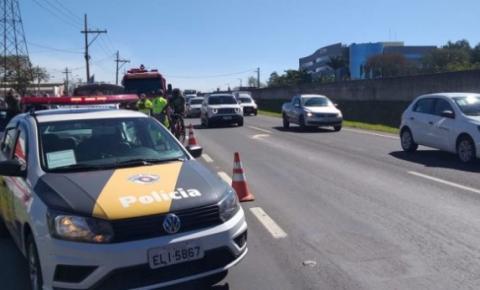 Caminhão atropela e mata mulher na SP-304