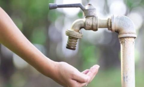 Nove bairros de Santa Bárbara ficarão sem água nesta quinta