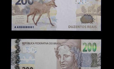 Nova cédula de R$ 200 já está em circulação