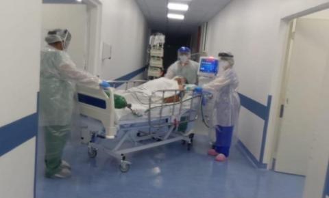 Leitos sem respiradores destinados a pacientes com Covid-19 estão 100% ocupados no Hospital Municipal