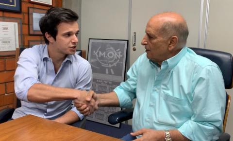 Omar declara apoio a Rafael: 'Ele tem a experiência para assumir o cargo'