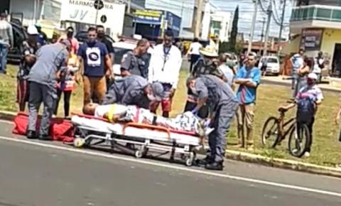 Motociclista morre em acidente em cruzamento da Avenida São Paulo