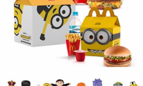Minions invadem o McDonald's em novembro