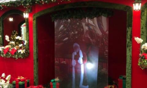 Holograma do Papai Noel começa a funcionar hoje no Tivoli
