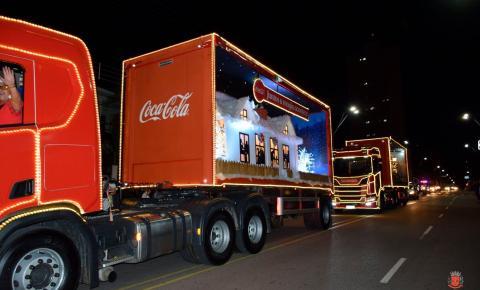 Caravana de Natal da Coca-Cola passará novamente por Americana