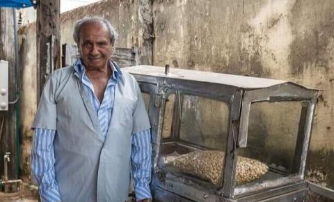 Célio pipoqueiro morre aos 87 anos em S. Bárbara