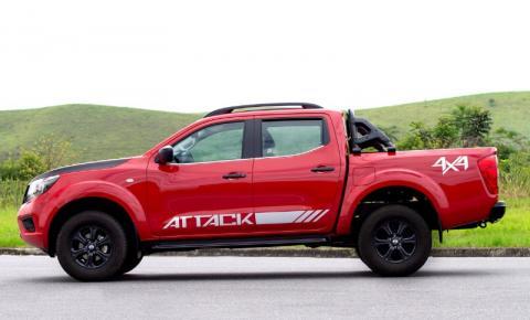 Nissan ataca com quatro versões da picape Frontier
