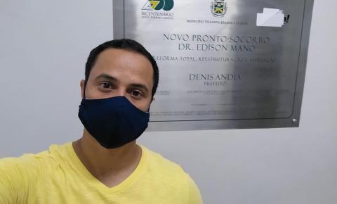 Vereador aciona a Polícia Militar após ser impedido de entrar no PS Edison Mano
