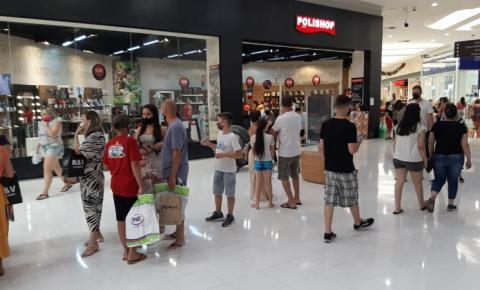 Tivoli Shopping volta ao horário normal de funcionamento nesta terça
