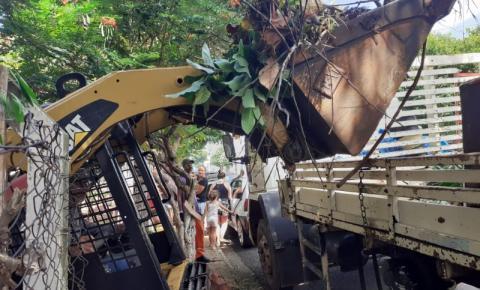 Mutirão recolhe 21 toneladas de materiais em duas semanas