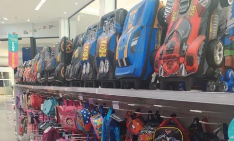 Tivoli Shopping é opção de compras para volta às aulas