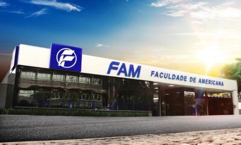 FAM tem mais de 25 turmas abertas para 2021