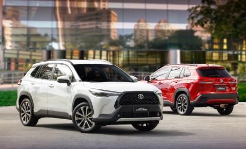 Toyota estreia o global Corolla Cross no Brasil