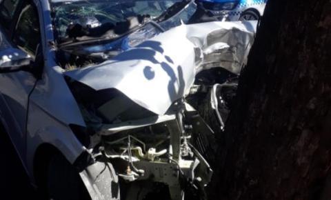 Casal de idosos morre em acidente na Avenida Brasil