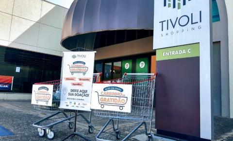 Tivoli Shopping promove campanha solidária