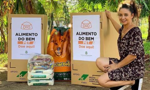 Vereadora cria projeto de arrecadação de alimentos para animais