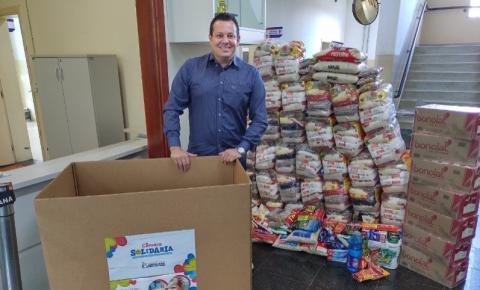 Campanha Câmara Solidária chega ao fim com mais de uma tonelada de doações